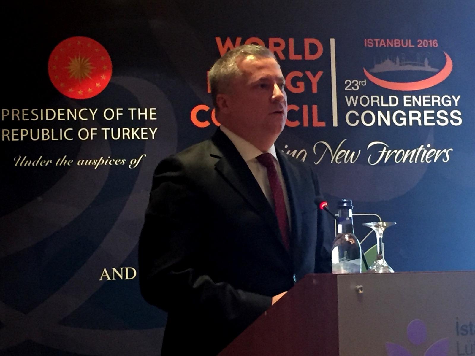 """Aksa Enerji CEO ve Yönetim Kurulu Üyesi Cüneyt Uygun Dünya Enerji Kongresi'nde """"COP 21 Sonrası Kömürün Geleceği"""" Çalıştayında Ana Konuşmacı Oldu"""